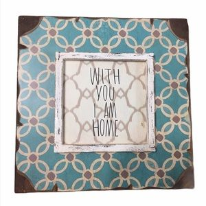 HOBBY LOBBY | With You I Am Home wall art